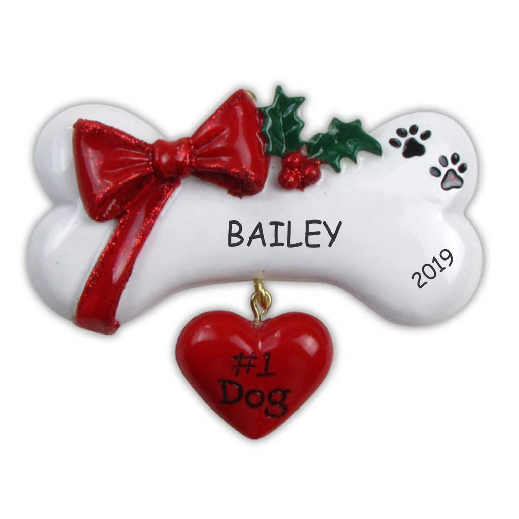 DIBSIES Personalization Station Personalized Pet Ornament (#1 Pet Dog) by DIBSIES Personalization Station