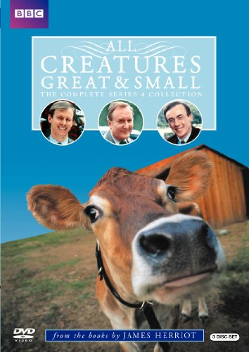 DVD : All Creatures Great & Small: The Complete Series 4 Collection (Full Frame, Repackaged, Slim Pack, Slipsleeve Packaging, Widescreen)