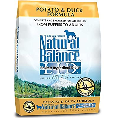 Natural Balance L.I.D. Limited Ingredient Diets Potato & Duck Formula Dry Dog Food