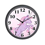 CafePress – Unicorn – Unique Decorative 10″ Wall Clock For Sale