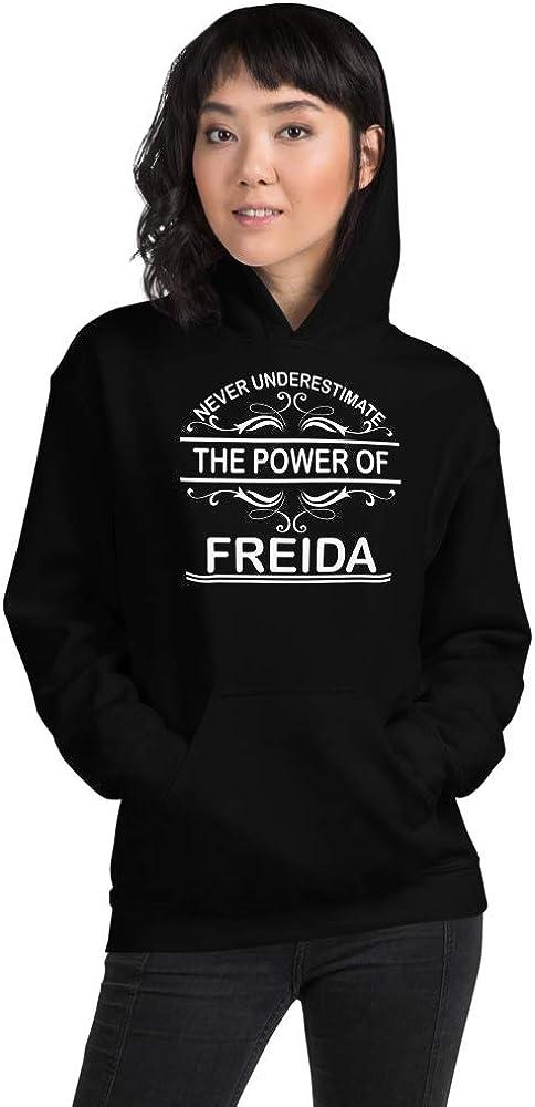 Never Underestimate The Power of Freida PF