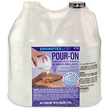 Environmental Technology 128-Ounce Kit Lite Pour-On, High Gloss Finish