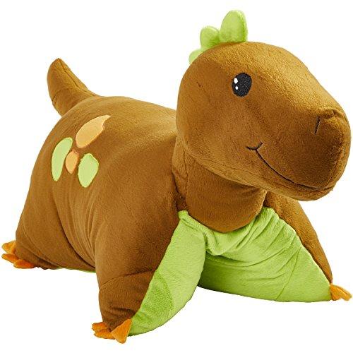Pillow Pets Dinosaur, Brown Dinosaur, 18