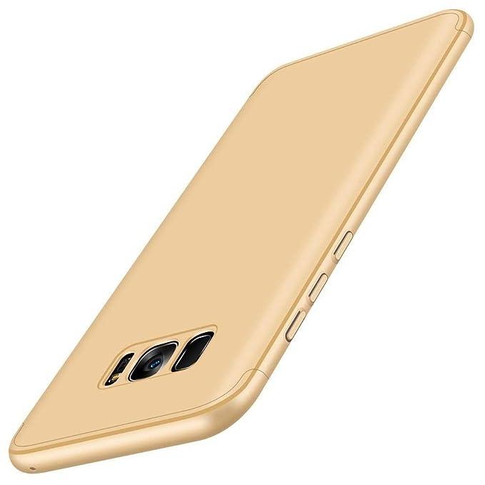 Yitla Carcasa Samsung Galaxy S8/S8 plus Funda 3 in 1 Todo incluido Anti-Scratch Ultra Slim Protective 360 PC Case Cover para Samsung Galaxy S8/S8 Plus