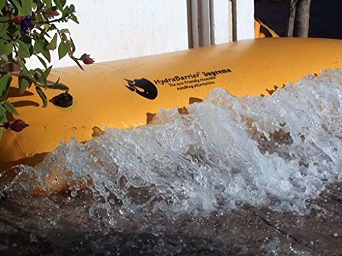 Best Sandbag Alternative - Hydrabarrier Supreme 6 Foot Length 12 Inch Height. - Water Diversion Tubes That Are the Lightweight, Re-usable, and Eco-friendly (Water Filled Barrier)