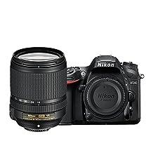 Nikon D7200 DX-format DSLR w/ 18-140mm VR Lens, Black (Certified Refurbished)