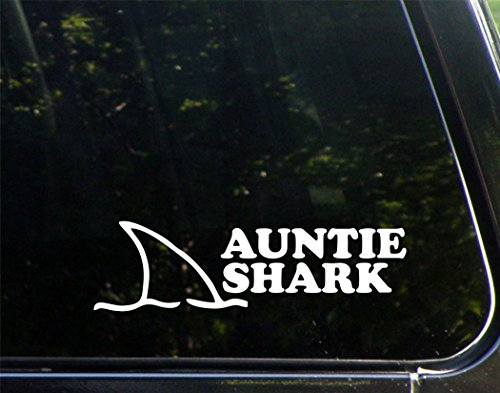 Diamond Graphics Auntie Shark (8-3/4