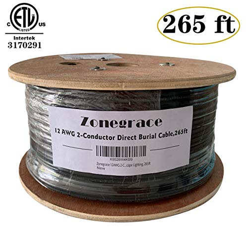 Landscape Lighting Wire Size in US - 2