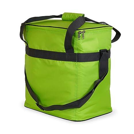 outdoorer Bolsa térmica Grande Cool Butler 40, Color Verde: Amazon ...