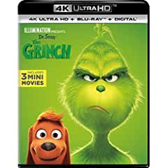 Dr. Seuss' The Grinch on Digital Jan. 22 and on 4K, 3D, Blu-ray, and DVD Feb. 5 from Universal