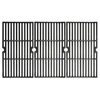 Cast Iron Grill Cooking Grid Grate Replacement Parts for Charbroil 463420508, 463420509, 463420511, 463436213, 463436214, 463436215, 463440109, 463441312, 463441514, 463461613 & Thermos 461442114