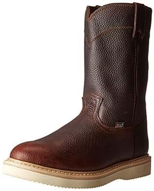 Justin Original Work Boots Men's Premium Wk Work Boot,Tan Premium,6 M US