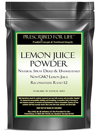 Lemon Juice Powder Unsweetened Reconstitute product image