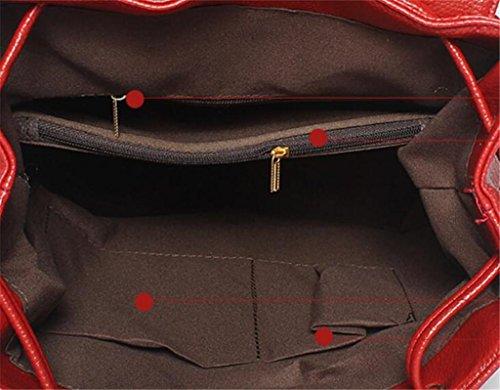 BeiBao Zipper Sac Simple Trois Sac Couleurs d'épaules 32cm 13 de 30 Voyage à Dos Achat Loisirs Dames étudiants de qxFrPqOn