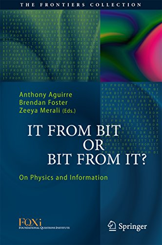 Download It From Bit or Bit From It?: On Physics and Information (The Frontiers Collection) Pdf