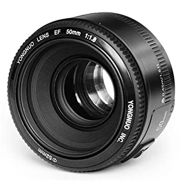 Yongnuo_ EF YN 50mm F/1.8 1:1.8 Standard Prime Lens for Canon Rebel Digital Camera Works Well With 5D, 7D, 60D, 70D, T3, T3i, T5, T5i, Plus DSLR Camera Lenses at amazon