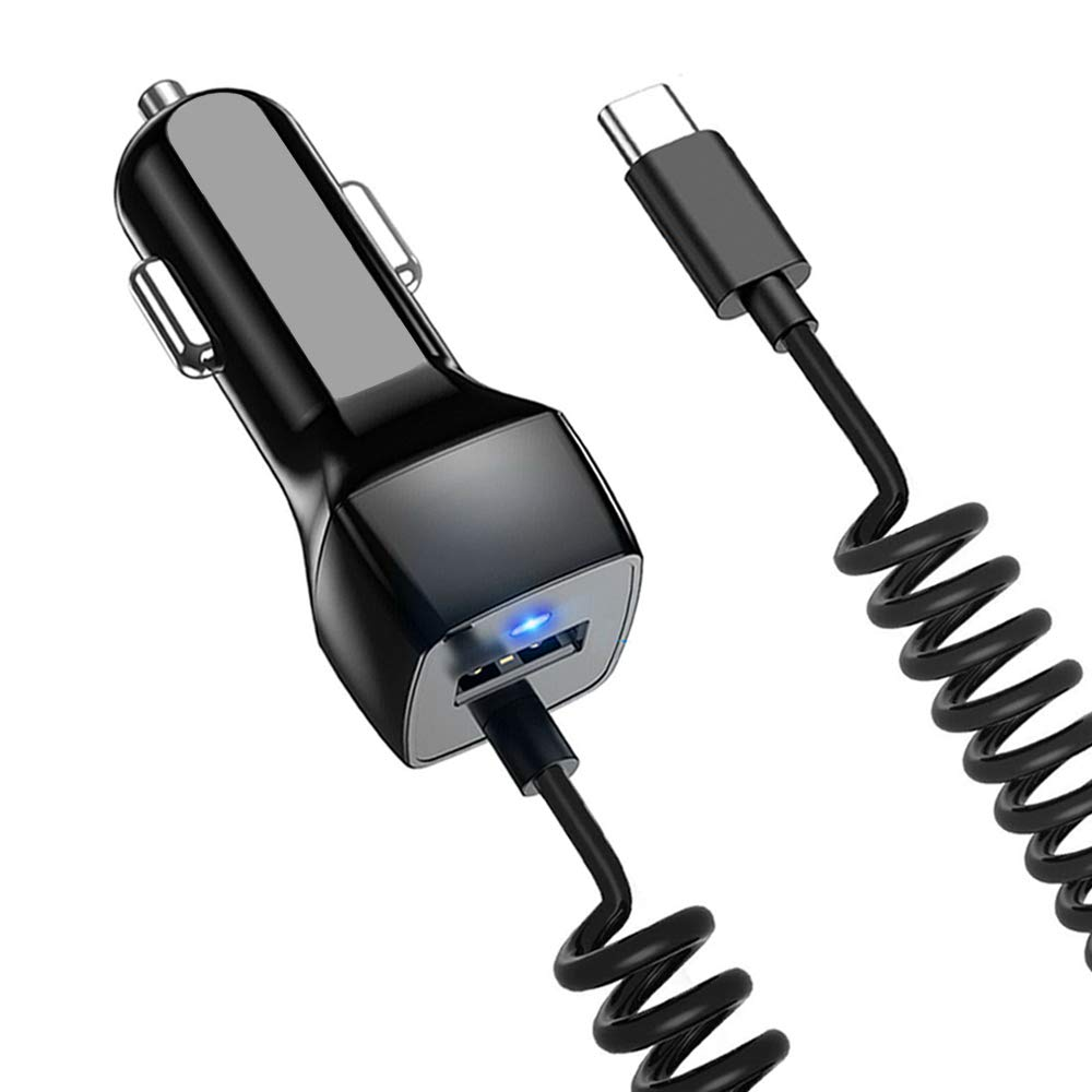 Google Pixel 3a 4XL 3XL 2 Moto G8//G7//G6//Z4//Z3 Wall Plug Charger Car Adapter Type C Fast Charging Cable Car Charger for Samsung Galaxy S20 A20 A21 A50 A51 A70 A71 A01 A10e S10e S9 S8+ Note 10 9 8+