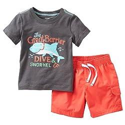 Carter's Baby Boys' 2 Piece Shorts Set (Baby)