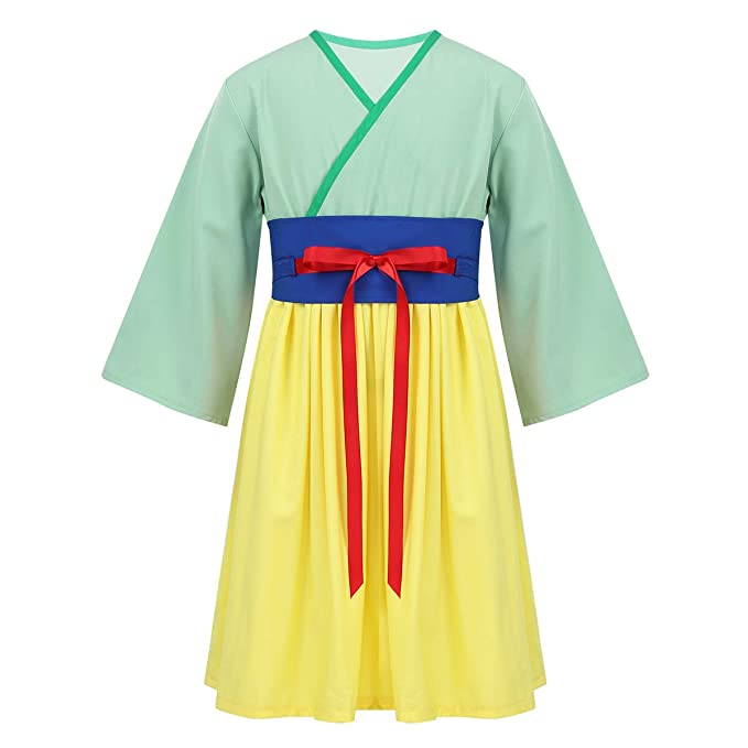 Freebily Disfraz Princesa Heroína China para Bebé Niñas Ropa ...