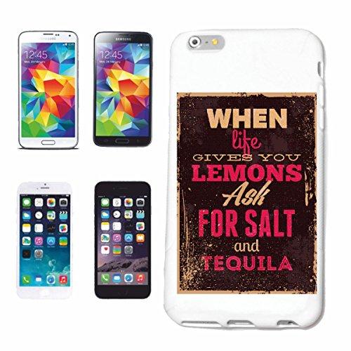 caja del teléfono Huawei P9 CUANDO LA VIDA LE DA pedir sal con tequila VENDIMIA VIDA manera gótico MOTORISTA STREETWEAR PARIS MILAN NEW YORK Caso duro de la cubierta Teléfono Cubiertas cubierta para