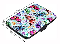 RFID Blocking Wallet Case for Women or Men, Theft Proof Credit Card Holder with Extra Layers of Security, Slim Design Fits in Front Pocket, Holds 9 Cards