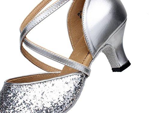Moderno Heel Joymod Argento 35 Jazz Style1 5cm Donna e MGM Silver AUqtfq