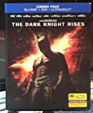 THE DARK KNIGHT RISES Combo Pack BLU-RAY+DVD+ULTRAVIOLET with Lenticular Slip Cover
