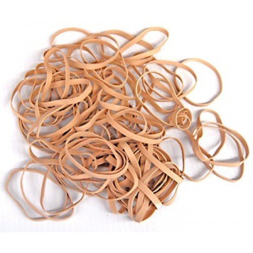 Plasticplace Rubber Bands #33 1 lb Bag (1 Bag)