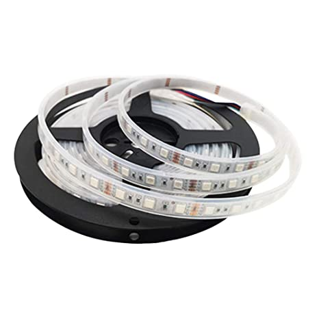 TABEN 12 V Impermeable Flexible LED Tira de Luz, 16.4ft/5m Cortable Tiras