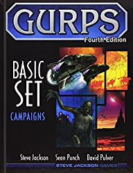GURPS BASIC SET Campaigns (GURPS: Generic Universal Role Playing System)