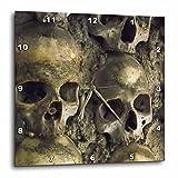 3dRose Skulls, Chapel of Bones, Evora, Portugal - Wall Clock, 15 by 15-Inch (dpp_100285_3)