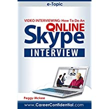 eTopic: Video Interviewing: How to Do an Online Skype Interview