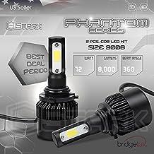New Super Bright COB LED Chip 8000LM Headlight Conversion Kit - Cool White 6000K 6K - Low Beam / Fog Light Bulbs - 9006 / HB4