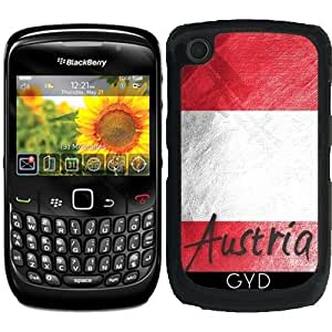 Funda para Blackberry Curve 8520/8530/9300/9330 - Bandera De Austria by Julien Kaltnecker