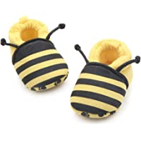 Save Beautiful Cute Cartoon Infant Unisex Baby Warm Cotton Anti-Slip Soft Sole First Walkers Shoes