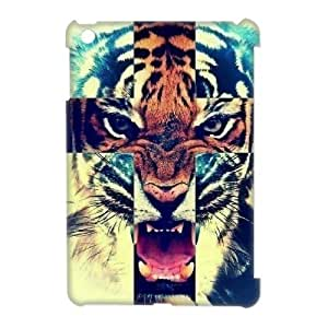 Custom New Case for Ipad Mini 3D, Tiger Phone Case - HL-R645892
