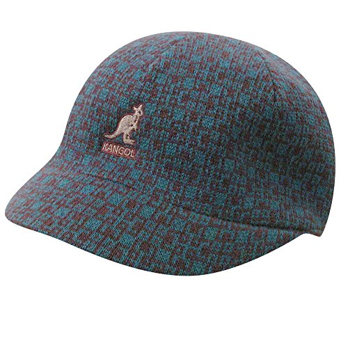 Kangol Kid Escher Check Spacecap Mulberry Kids L - Escher Check