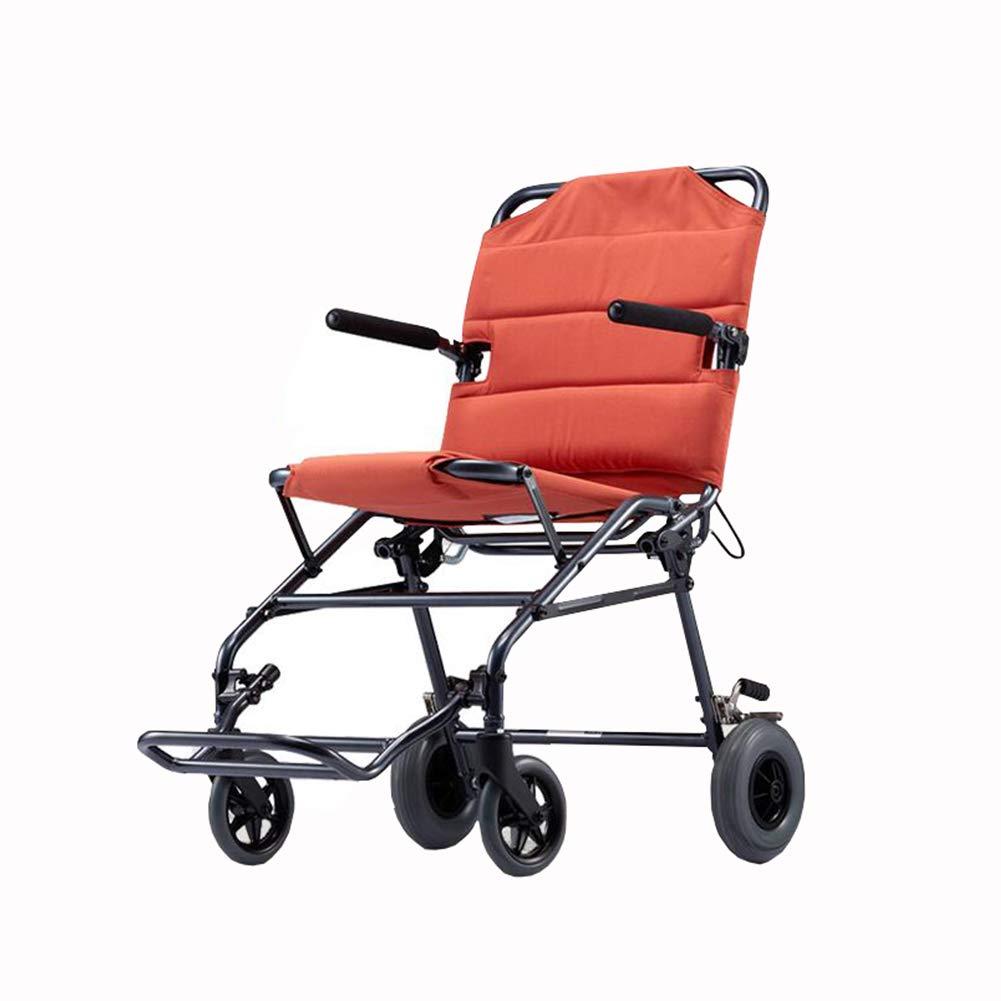 色々な QIDI 安全ブレーキ 車椅子 折りたたみ 軽量 搭乗可能 旅行 ソリッドタイヤ 安全ブレーキ ペダル 輸送 B07MKR618D ポータブル アルミニウム合金 旅行 B07MKR618D, ニシアリエチョウ:1bf99ae4 --- a0267596.xsph.ru