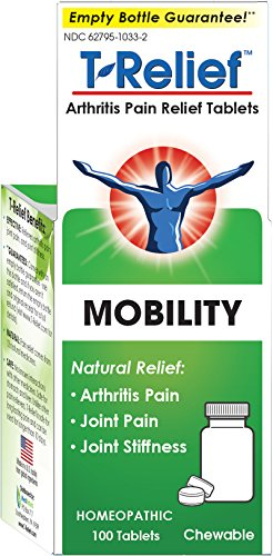 T-Relief Arthritis Pain Relief Tablets, 100 Tablets
