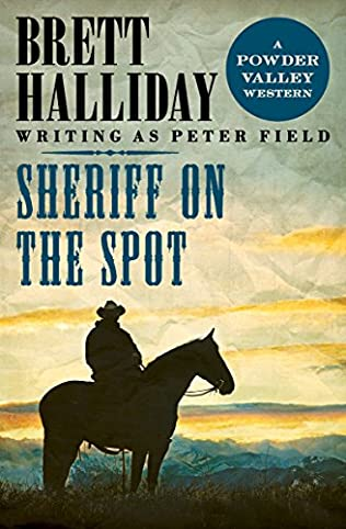 book cover of Sheriff on the Spot