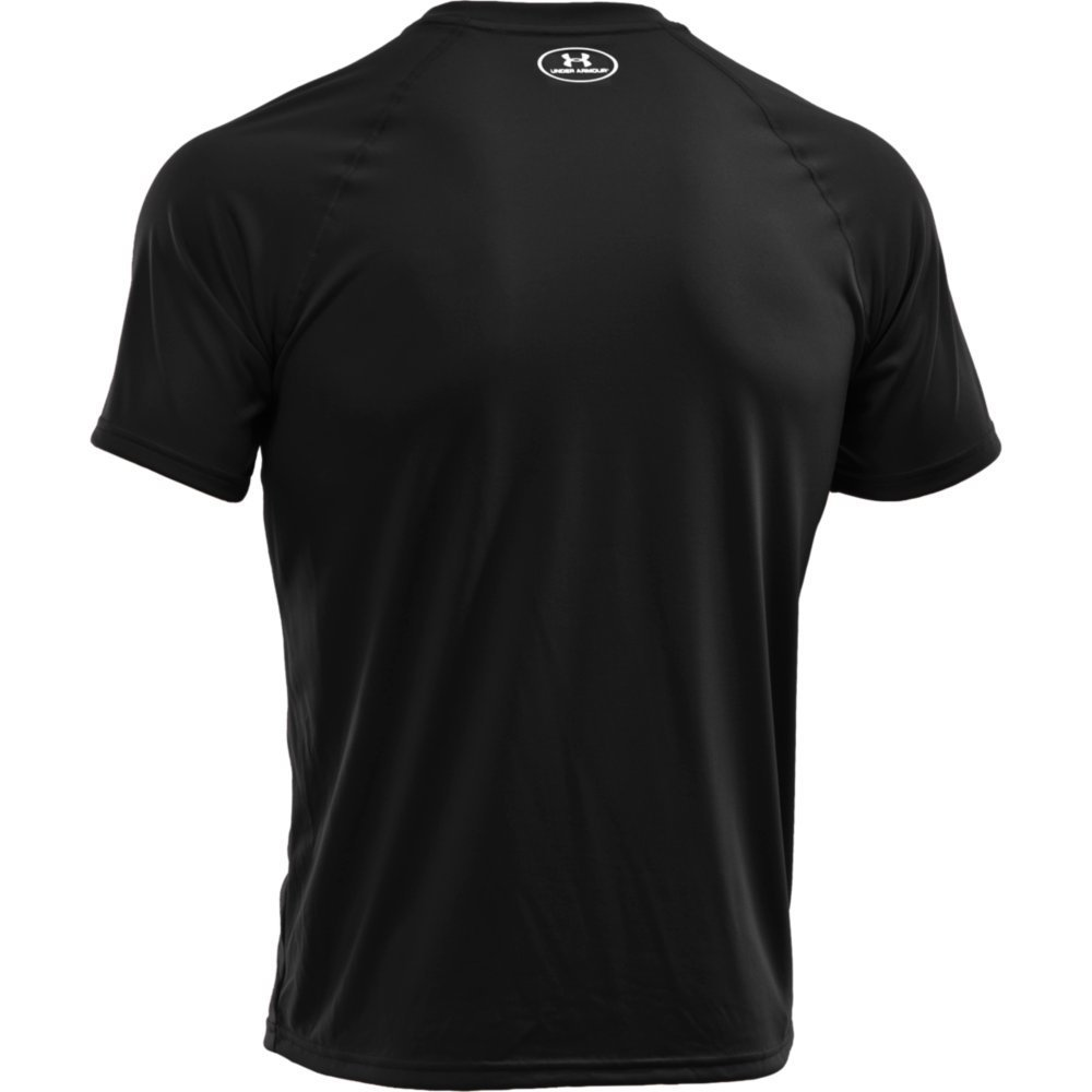 Black t shirt sports - Under Armour Men S Tech Short Sleeve T Shirt Under Armour Amazon Co Uk Sports Outdoors