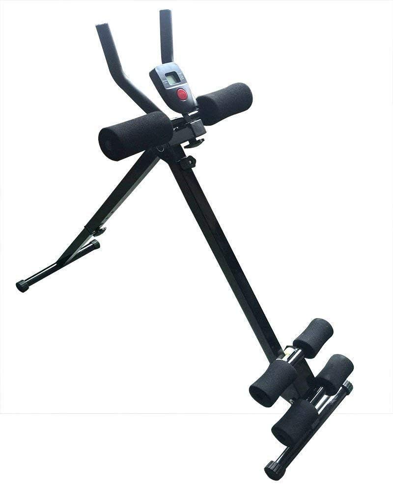 MISLD Máquina de entrenamiento abdominal vertical máquina abdomen dispositivo de ecografía abdominal máquina de la cintura Inicio de tipo deslizante marco de la aptitud del rodillo Lazy Equipos de for