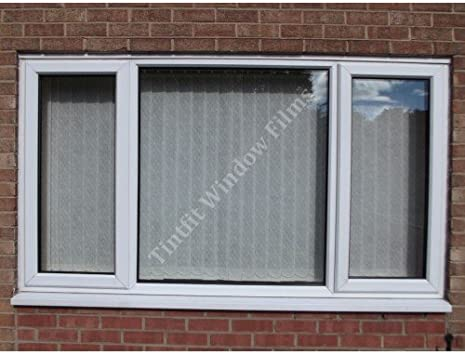 76cm x 5m PROTECTION PRO WINDOW TINTING FILM CLEAR UV ULTRAVIOLET 99.5/% FROM /£7.99