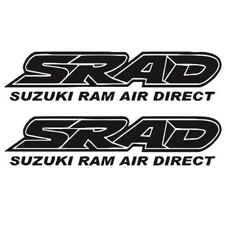 Amazon.com: Suzuki SRAD bicicleta calcomanías pegatinas ...