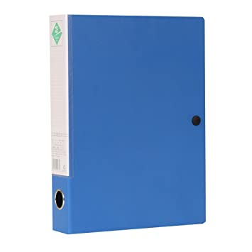 xingema A4 55 mm Anillo libros archivadores Papel de oficina grapadora para guardar 2pcs Azul: Amazon.es: Oficina y papelería
