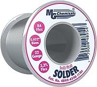 "MG Chemicals 63/37 Rosin Core Leaded Solder, 0.025"" Diameter, 1/2 lbs Spool"