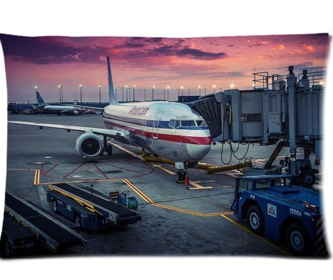 american-airlines-passenger-jet-pillowcases-custom-pillow-case-cushion-cover-20-x-30-inch-two-sides