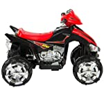 Kids Ride On ATV Quad 4 Wheeler 12V Battery Power Electric Led Lights and Music by Do not apply