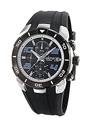 mercier and shelby chronograph mens leather club clifton en watch cobra stainless baume in mrp us steel watches l