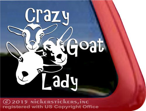 Crazy Quality NickerStickers Window Sticker